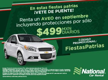 Promociones national car rental m xico - Coches de alquiler por meses ...