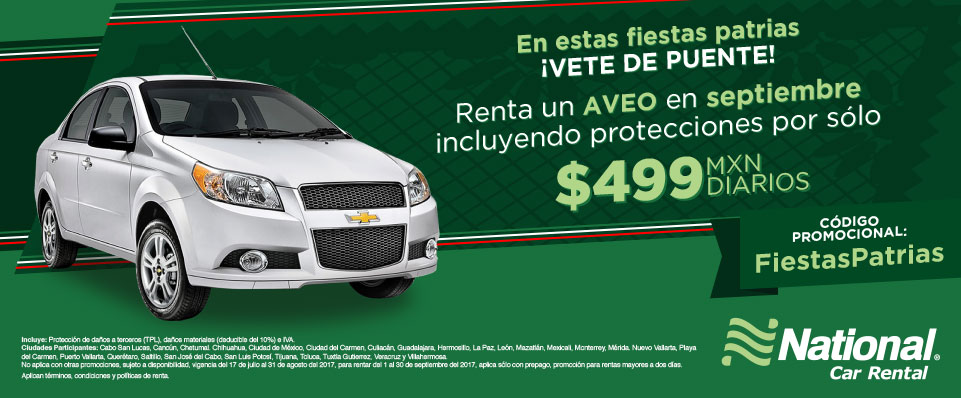 National car rental in cancun mexico 16